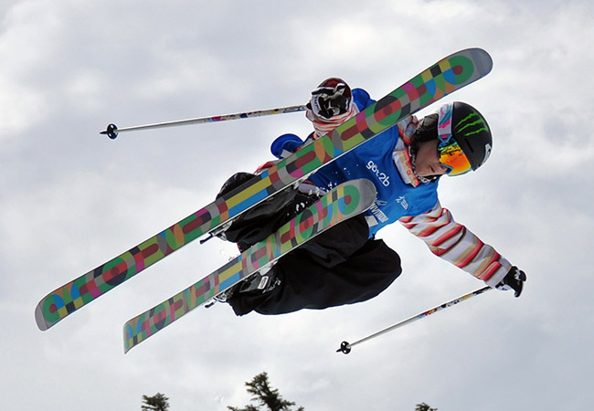 Freestyle Skiing as an extreme adventure sport