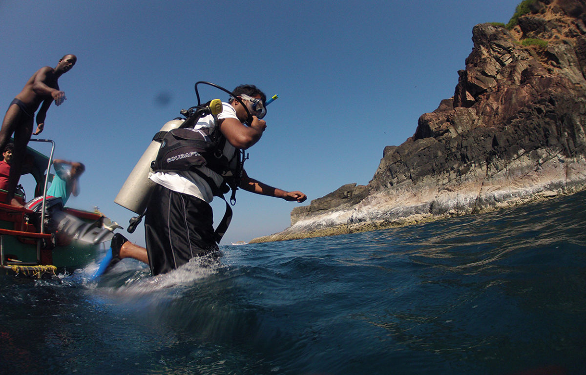 Introductory Scuba diving in Goa