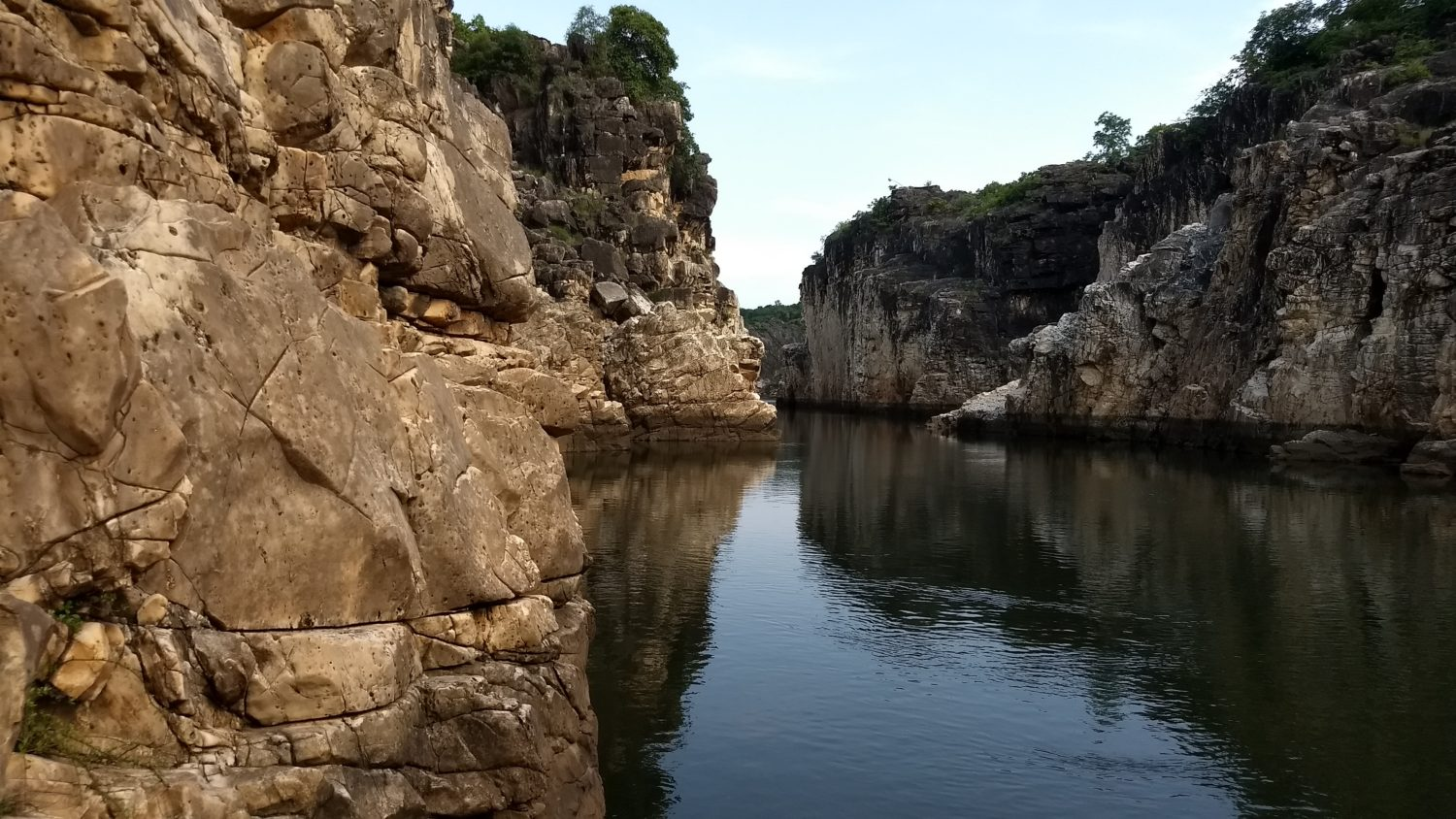 Cliff Jumping in the heart of India