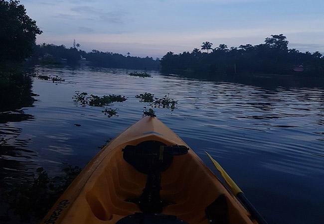 Kayaking in River Kundalika near Kolad