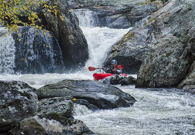 Kayaking in River Subansiri near Taliha