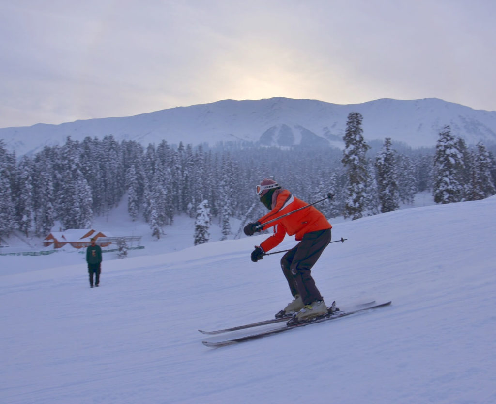 Kid Skiing in India | Slopes of Gulmarg