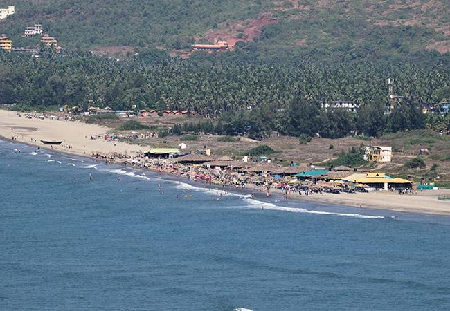 Kitesurfing in Goa
