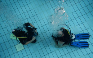 Scuba diver course for beginners