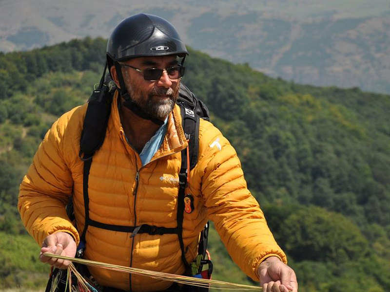 PARAGLIDER GURPREET DHINDSA WILL AT WORLD PARAGLIDING CHAMPIONSHIP