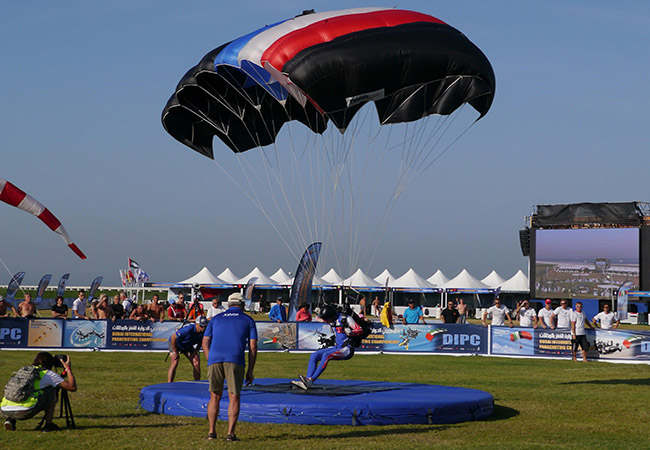 Paragliding competition festival in India