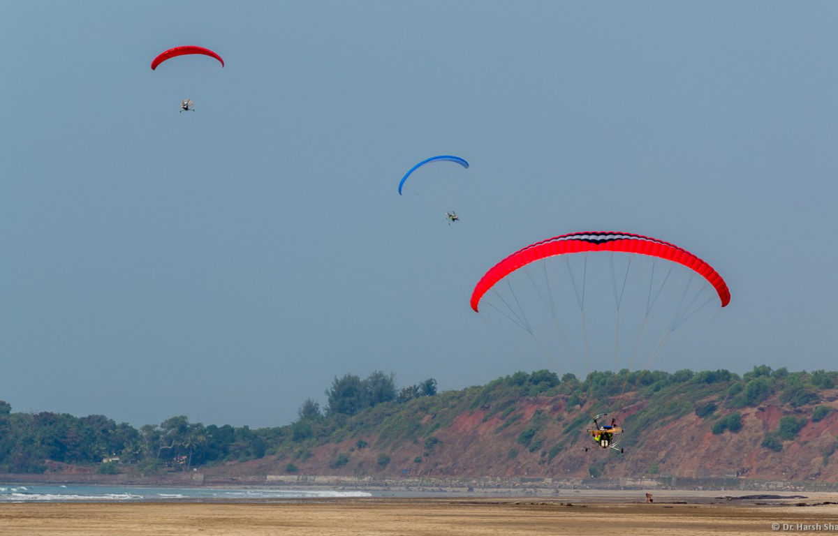 Paramotoring course in Ganpatipule