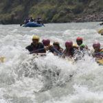 River rafting at Marine Drive in rishikesh