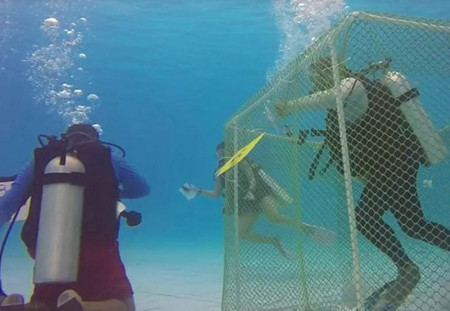 Scuba Diving Competition in India