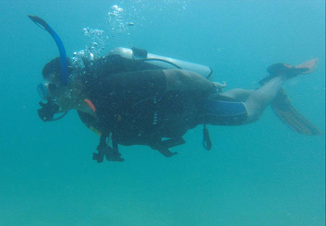 Scuba Diving in Kovalam