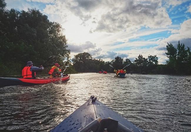 Season for Kayaking in India