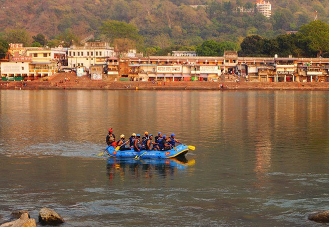 Season for Rafting in India