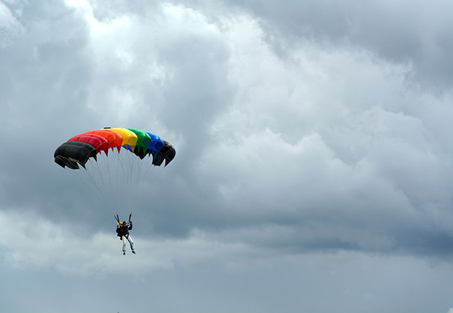 Seasons for Paragliding