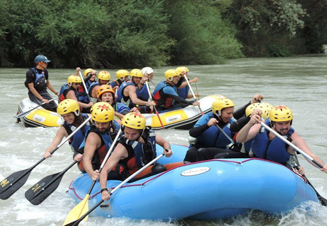 Techniques for Rafting
