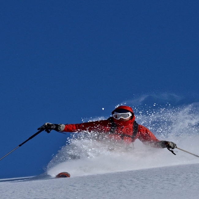 Learn Skiing in Auli on the Himalayan Shivalik hill slopes