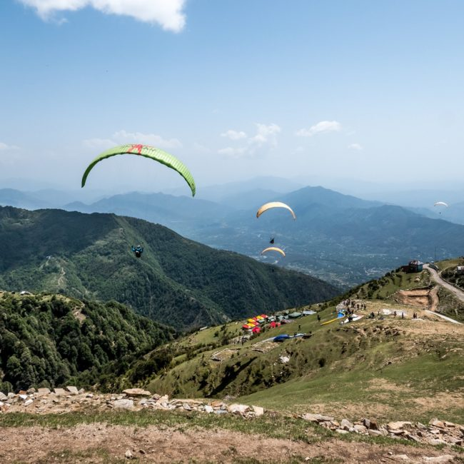 Basic Paragliding course (P1) at Bir billing