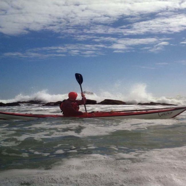 Become a proficient sea kayaker in Kovalam