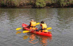 Let's go Kayaking in Baga