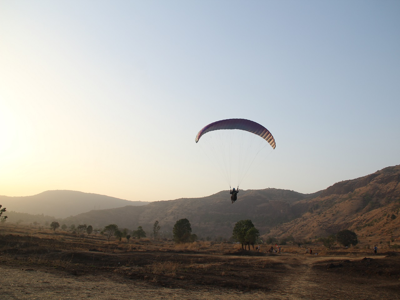 Tandem joyrides | Best spots for paragliding in India