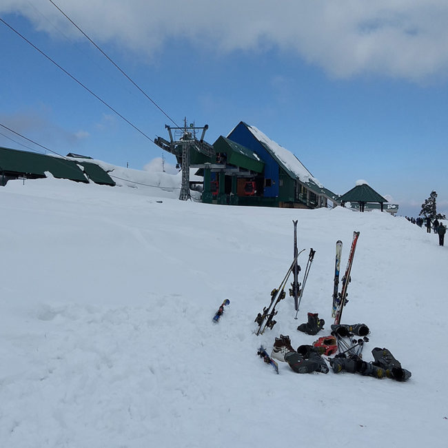 Learn Skiing on the golf course of Gulmarg