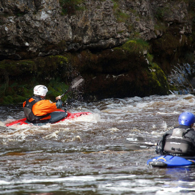 Basic Weekend course in recreational Kayaking