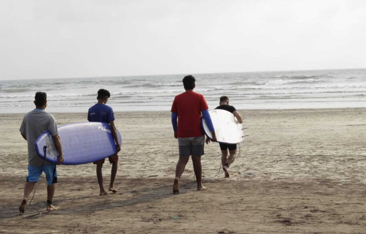 Surfing in Murud | Extreme Sports India