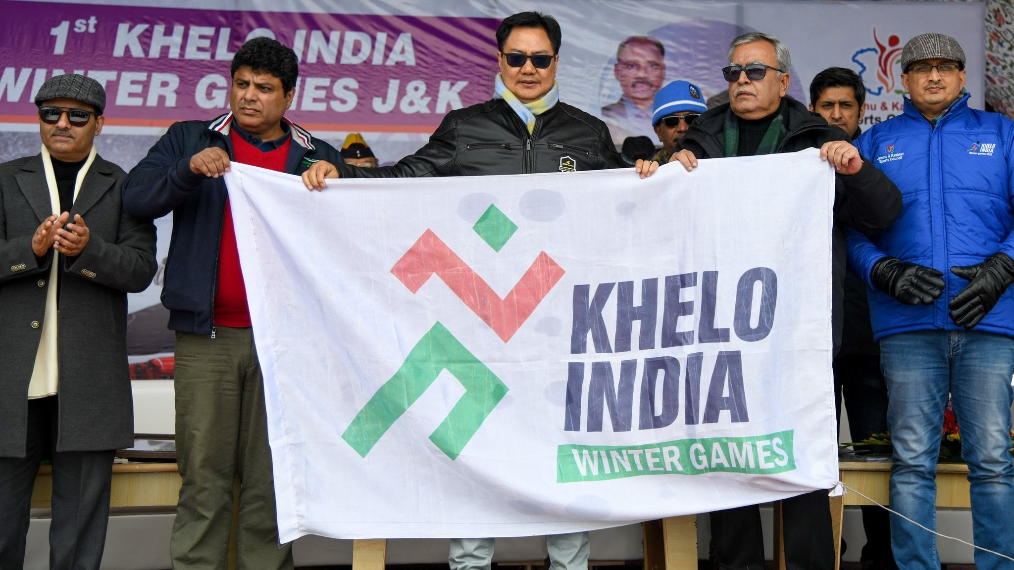 Kiren Rijiju at Khelo India Winter Games | Extreme Sports India